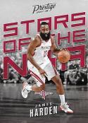 2017-18 Panini Prestige Stars of the NBA #4 James Harden Houston Rockets