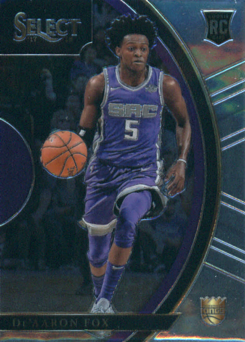 2017-18 Panini Select #49 De'Aaron Fox Concourse NM+