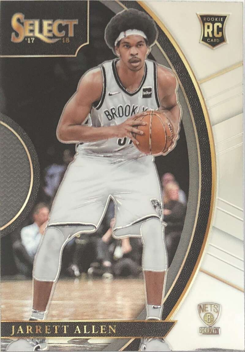 2017-18 Panini Select #83 Jarrett Allen Concourse NM-MT Brooklyn Nets Official NBA Basketball Card
