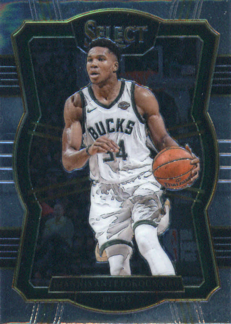2017-18 Panini Select #147 Giannis Antetokounmpo Premier Level NM+