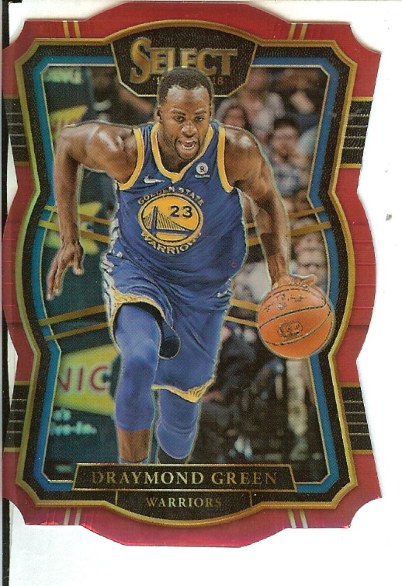 2017-18 Panini Select Red Prizms Die Cut