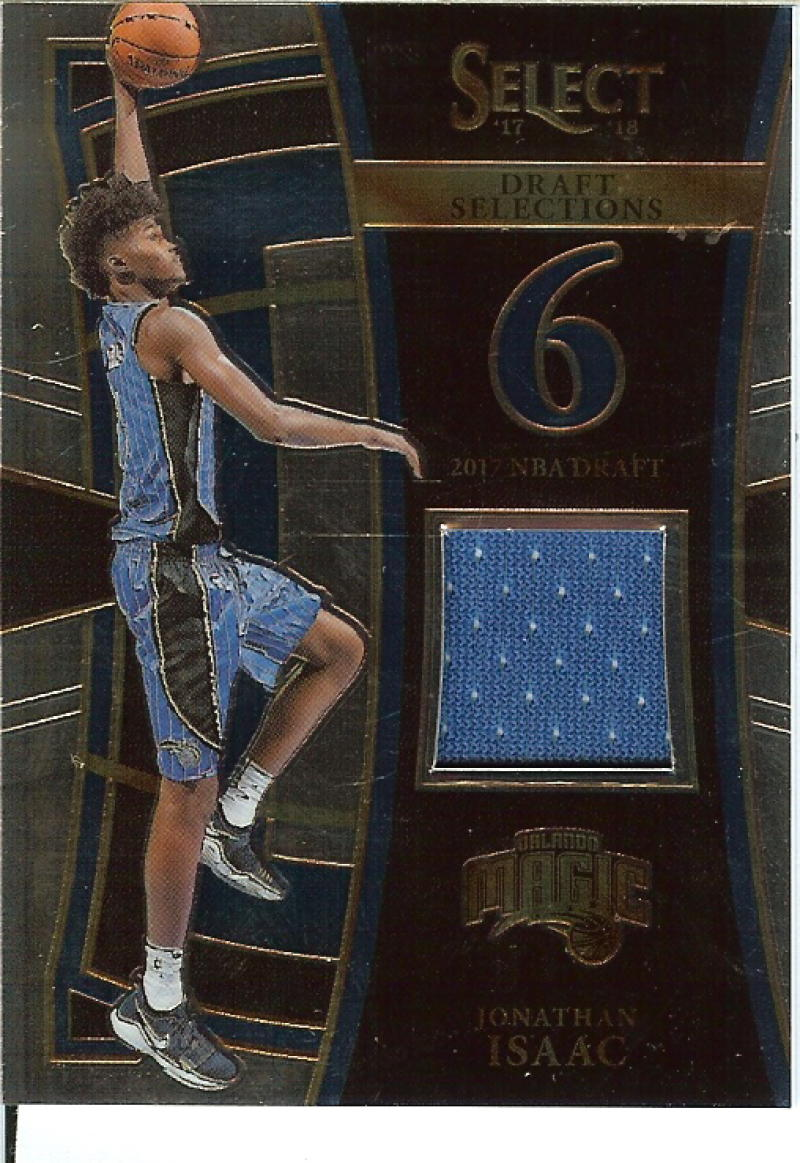 2017-18 Panini Select Draft Selections Memorabilia