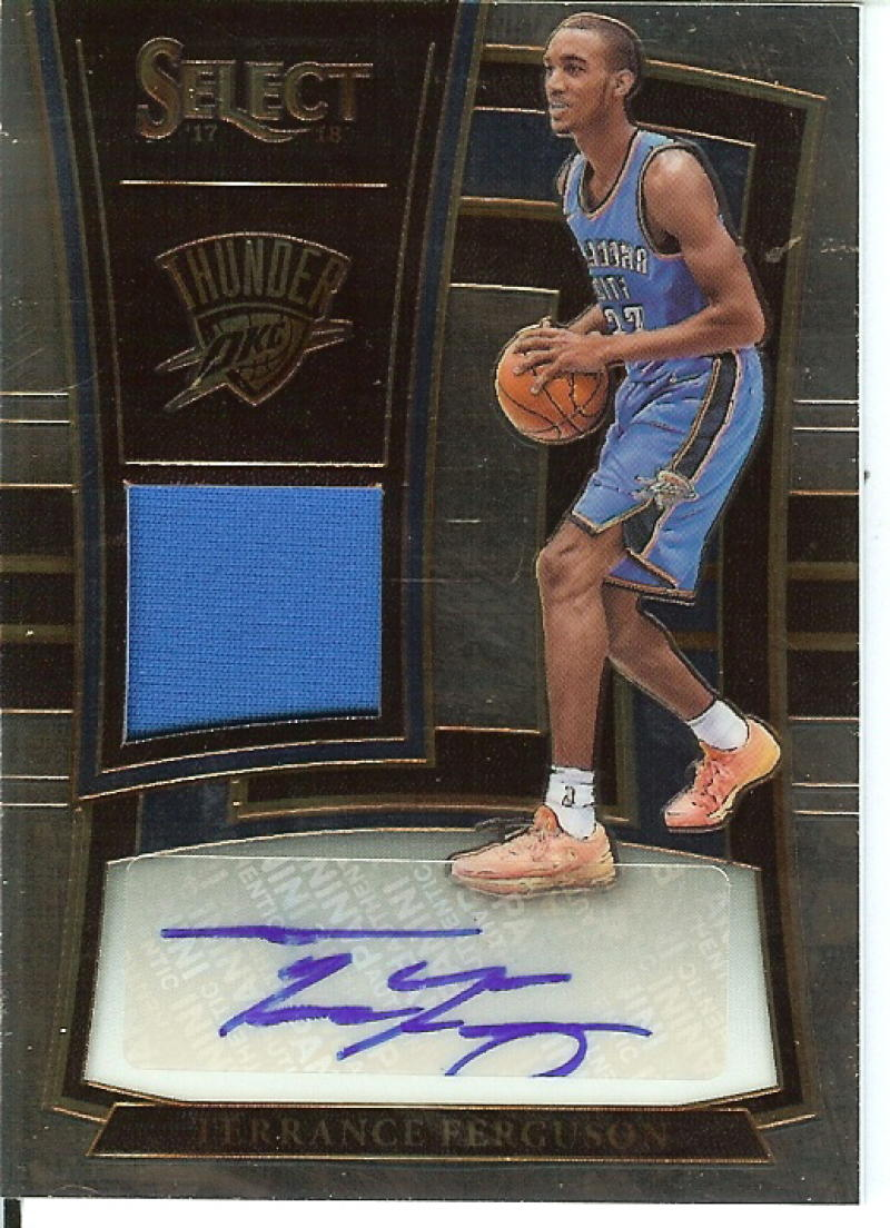 2017-18 Panini Select Rookie Jersey Autographs