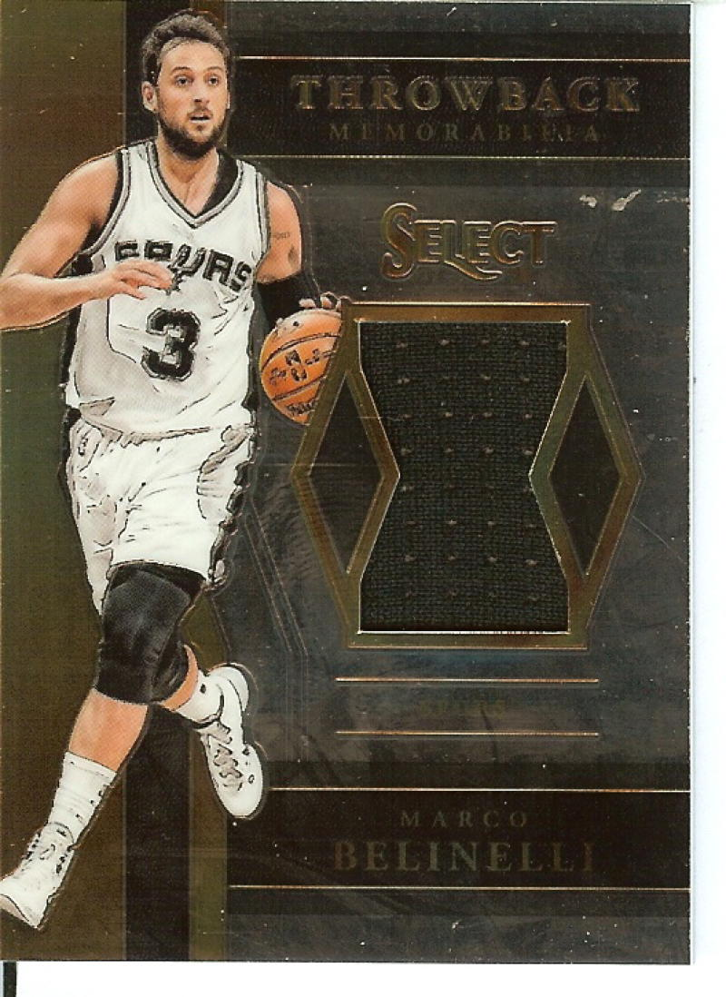 2017-18 Panini Select Throwback Memorabilia
