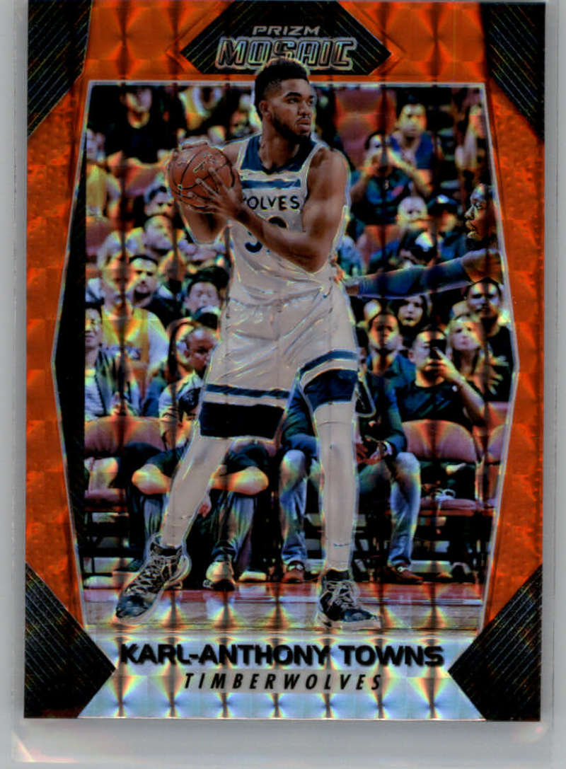 2017-18 Panini Mosaic Prizm Orange