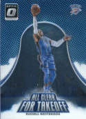 2017-18 Optic All Clear for Takeoff #11 Russell Westbrook  Thunder