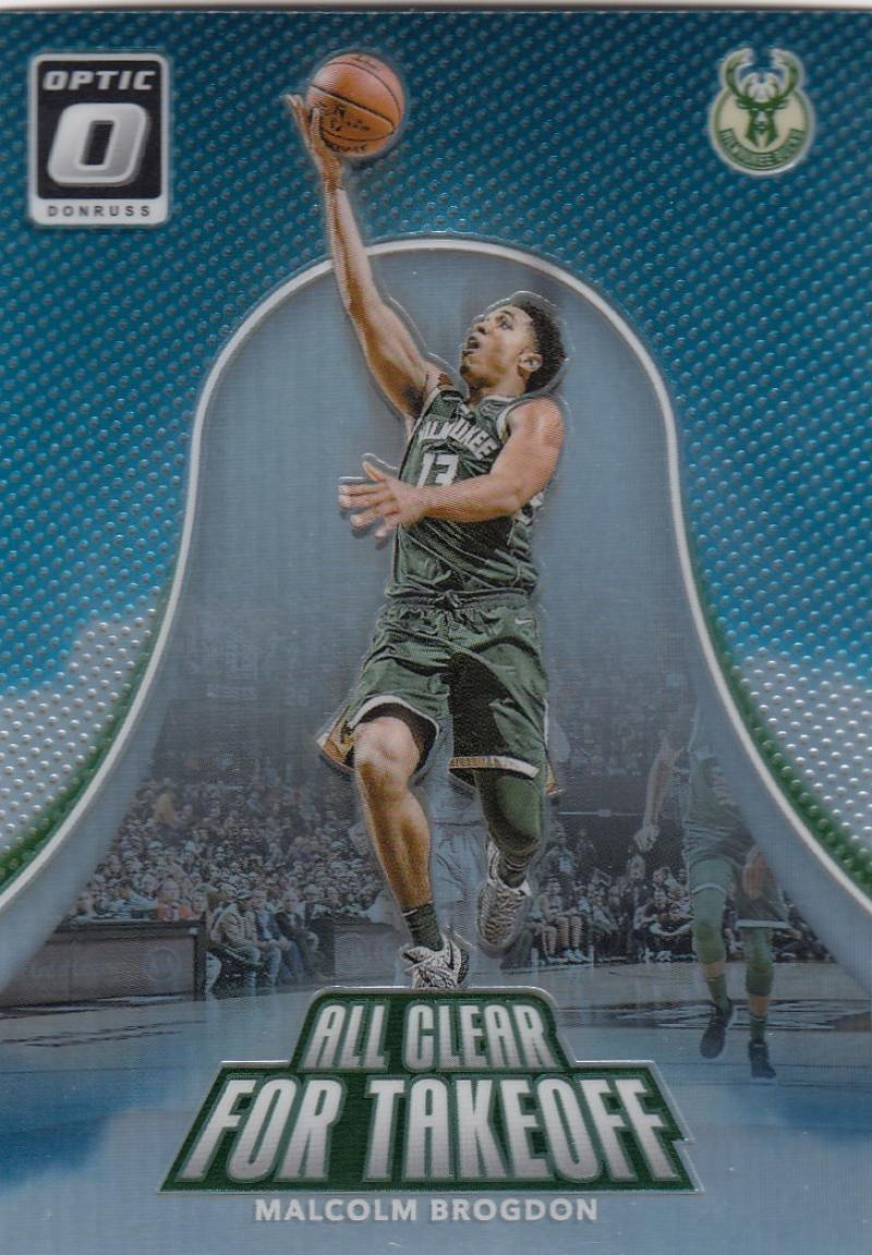 2017-18 Donruss Optic All Clear for Takeoff Holo