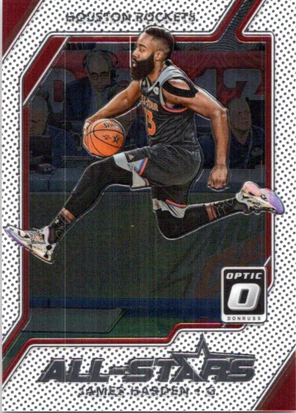 2017-18 Donruss Optic All-Stars #2 James Harden NM+
