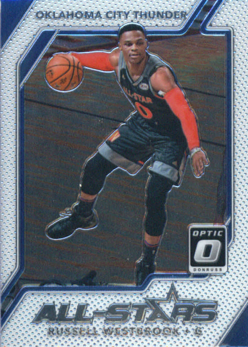 Basketball NBA 2017-18 Optic All-Stars #6 Russell Westbrook  Thunder