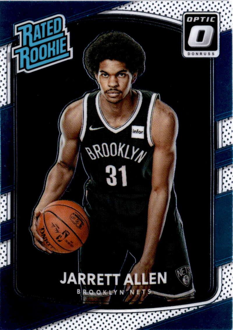 2017-18 Donruss Optic #179 Jarrett Allen Rated Rookie NM-MT+ Brooklyn Nets