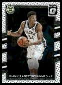 2017-18 Donruss Optic #81 Giannis Antetokounmpo Milwaukee Bucks Basketball Card