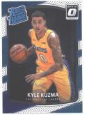 2017-18 Donruss Optic #174 Kyle Kuzma Los Angeles Lakers Rated Rookie Basketball Card