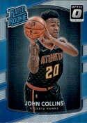 2017-18 Donruss Optic #182 John Collins Atlanta Hawks Rated Rookie Basketball Card