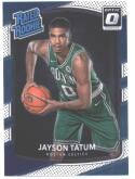 2017-18 Donruss Optic #198 Jayson Tatum Boston Celtics Rated Rookie Basketball Card