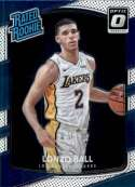 2017-18 Donruss Optic #199 Lonzo Ball Los Angeles Lakers Rated Rookie Basketball Card