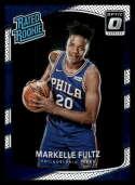 2017-18 Donruss Optic #200 Markelle Fultz Philadelphia 76ers Rated Rookie Basketball Card