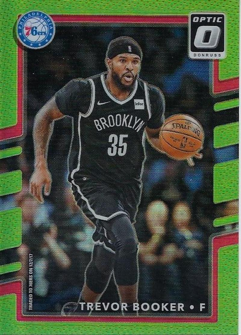 2017-18 Donruss Optic Lime Green