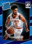 2017-18 Donruss Optic Purple #157 Tyler Dorsey Atlanta Hawks Rated Rookie