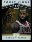 2017-18 Donruss Optic Court Kings #5 LeBron James Cleveland Cavaliers