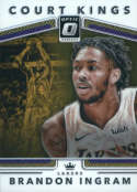 2017-18 Donruss Optic Court Kings #15 Brandon Ingram Los Angeles Lakers