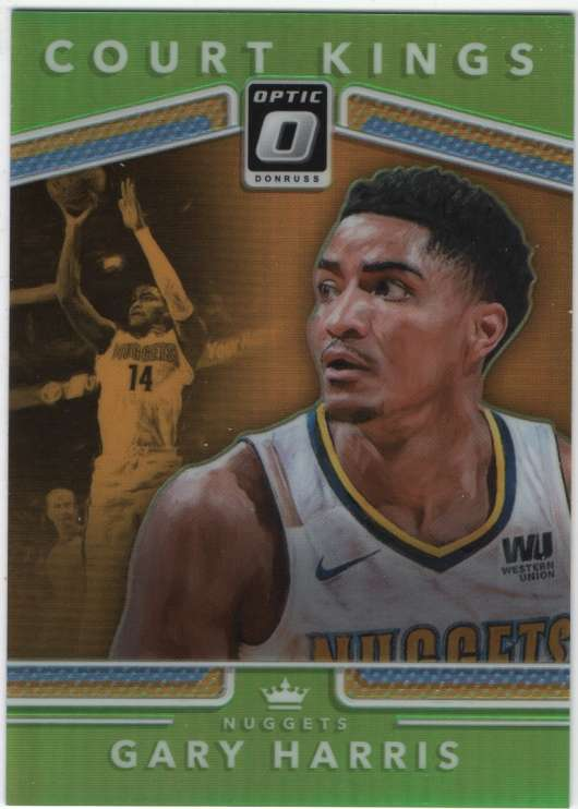 2017-18 Donruss Optic Court Kings Lime Green