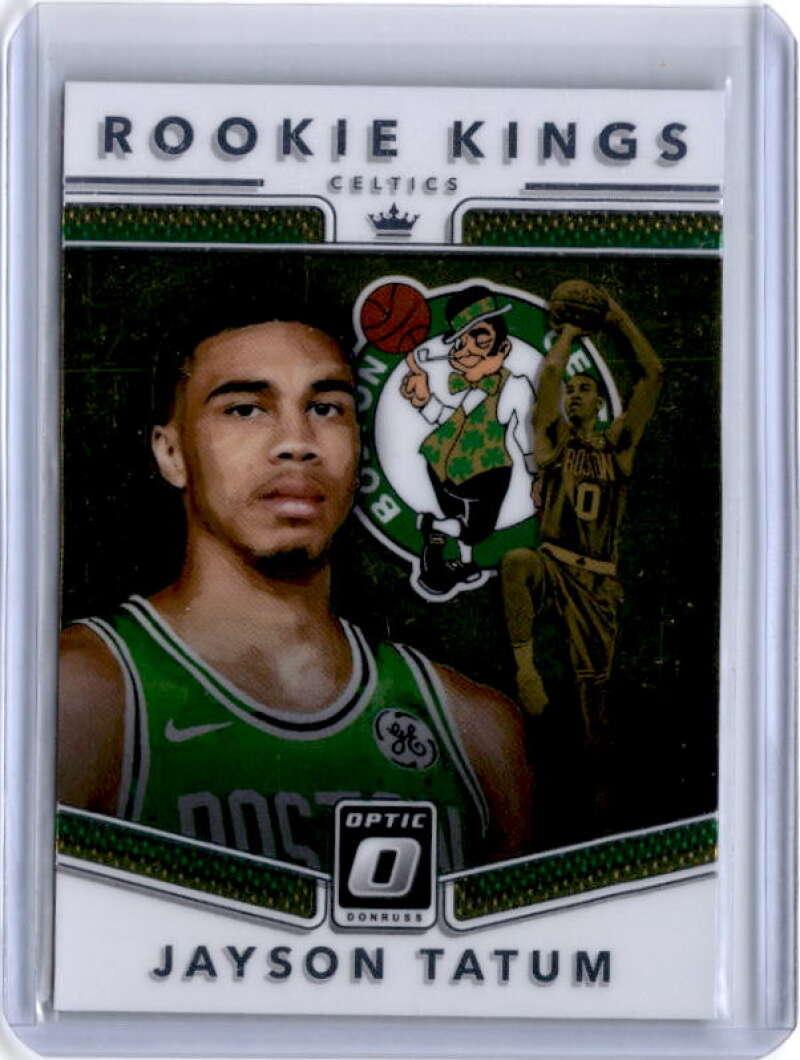 2017-18 Donruss Optic Rookie Kings #3 Jayson Tatum Boston Celtics