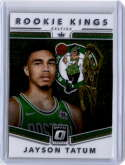 2017-18 Donruss Optic Rookie Kings #3 Jayson Tatum Boston Celtics
