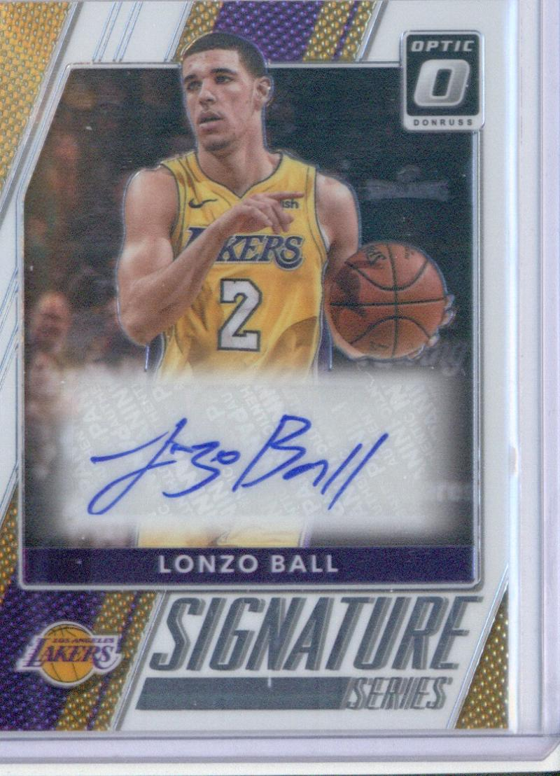 2017-18 Donruss Optic Signature Series