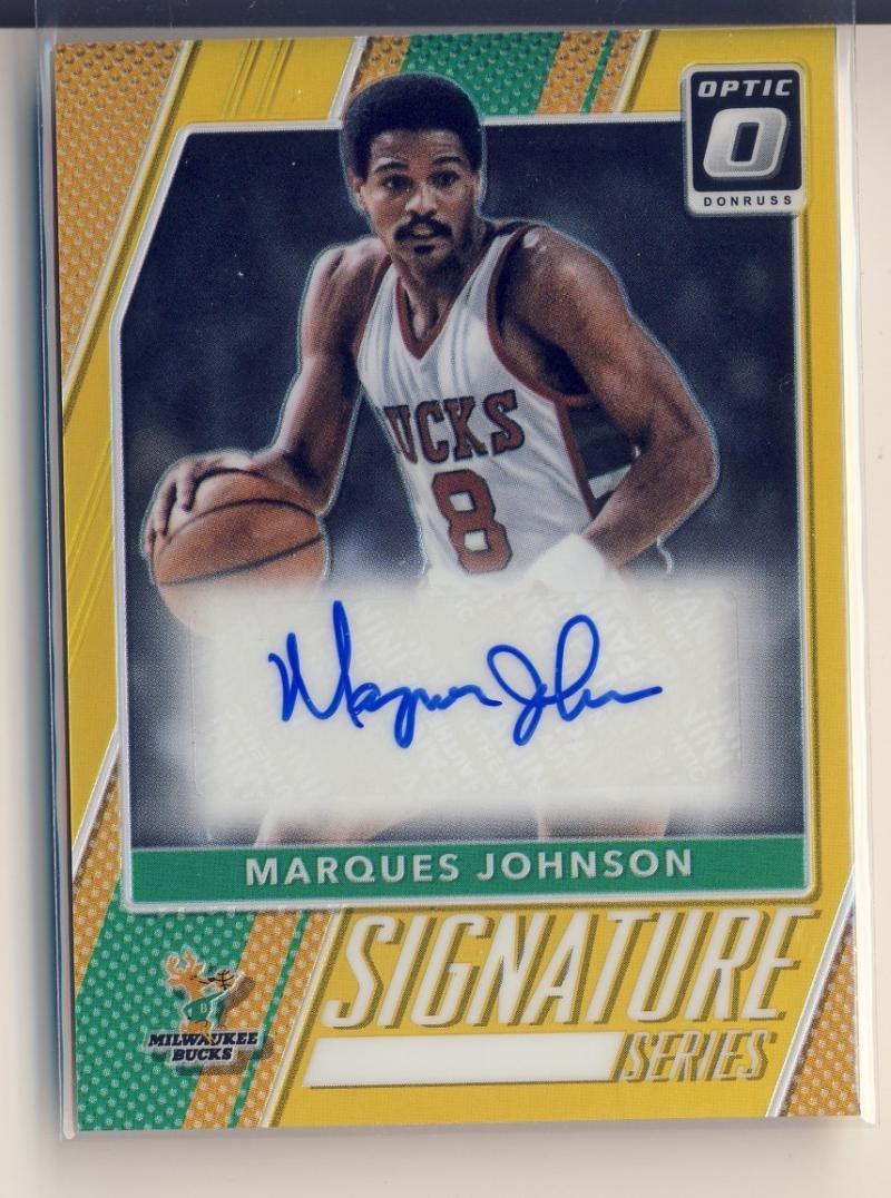 2017-18 Donruss Optic Signature Series Gold