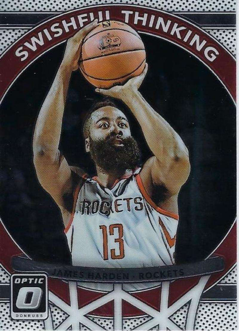 2017-18 Donruss Optic Swishful Thinking