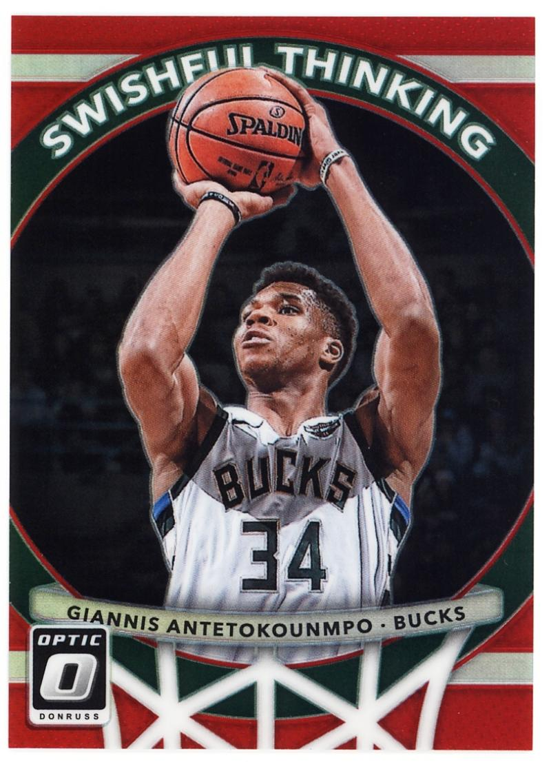 2017-18 Donruss Optic Swishful Thinking Red