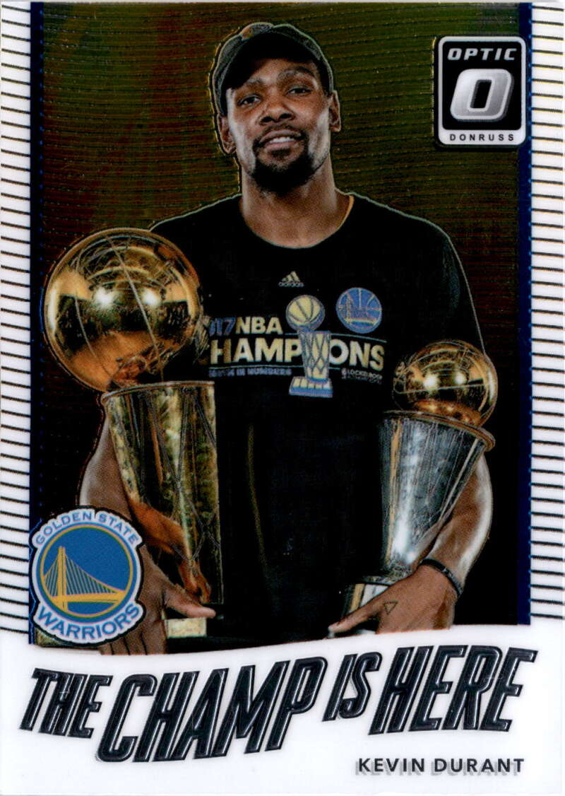 2017-18 Donruss Optic The Champ is Here #1 Kevin Durant NM+