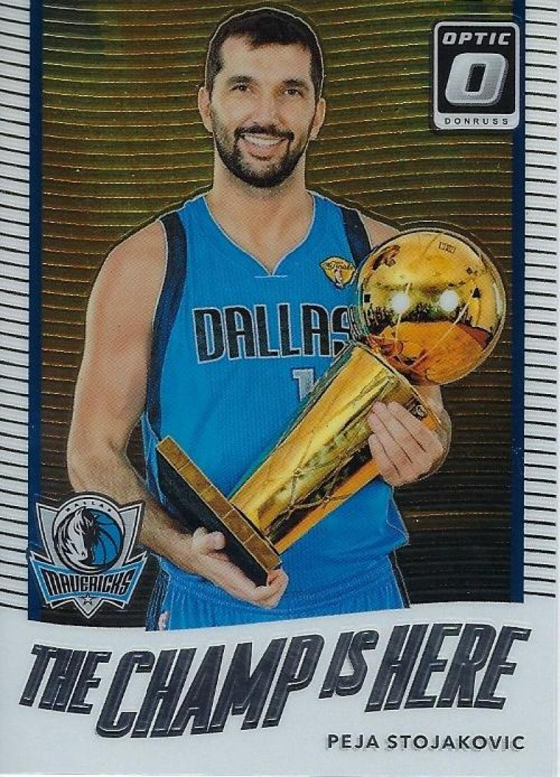 2017-18 Donruss Optic The Champ is Here