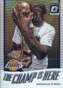 Basketball NBA 2017-18 Optic The Champ is Here #7 Shaquille O'Neal  Lakers