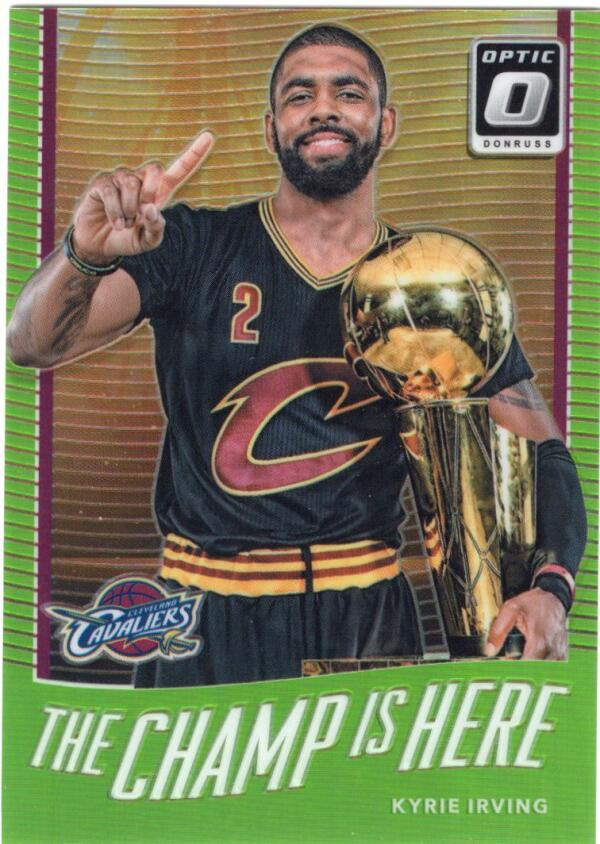 2017-18 Donruss Optic The Champ is Here Lime Green