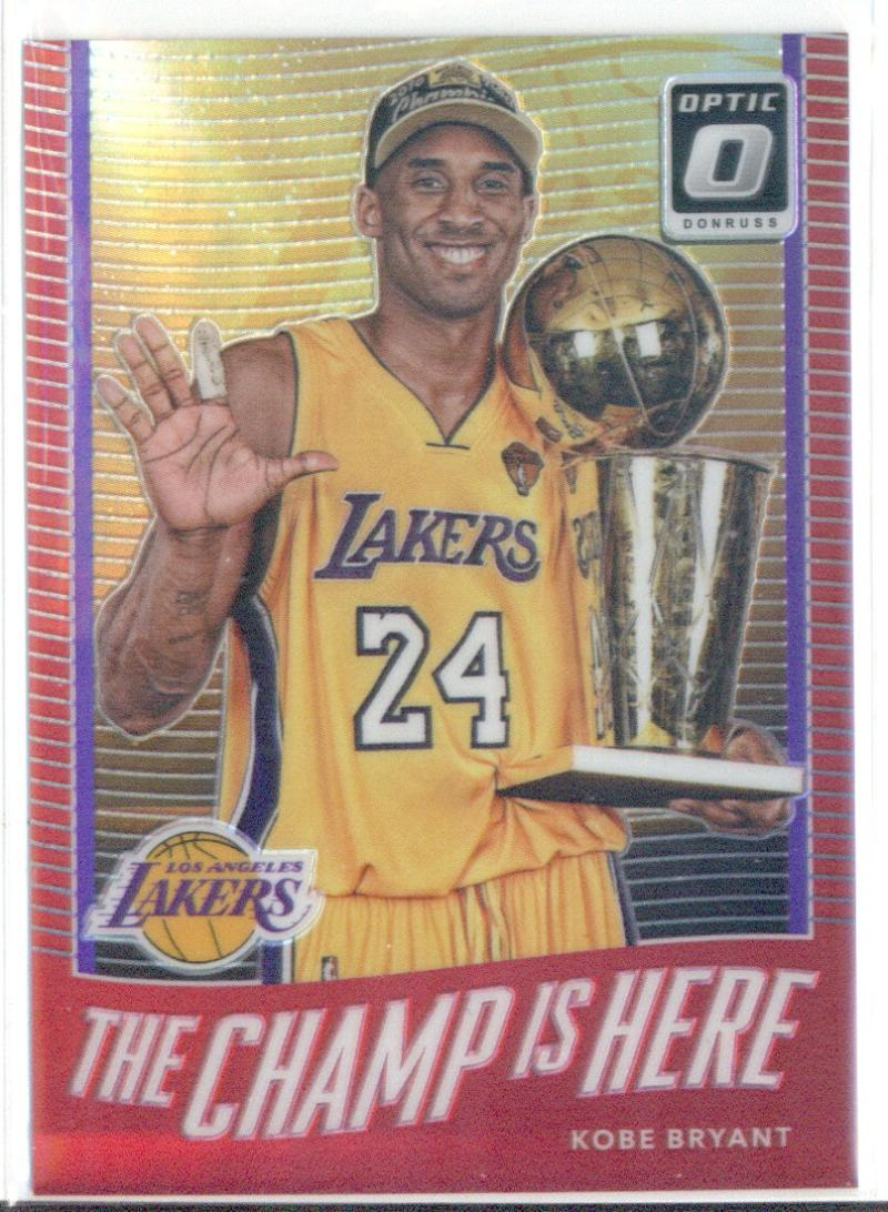 2017-18 Donruss Optic The Champ is Here Red