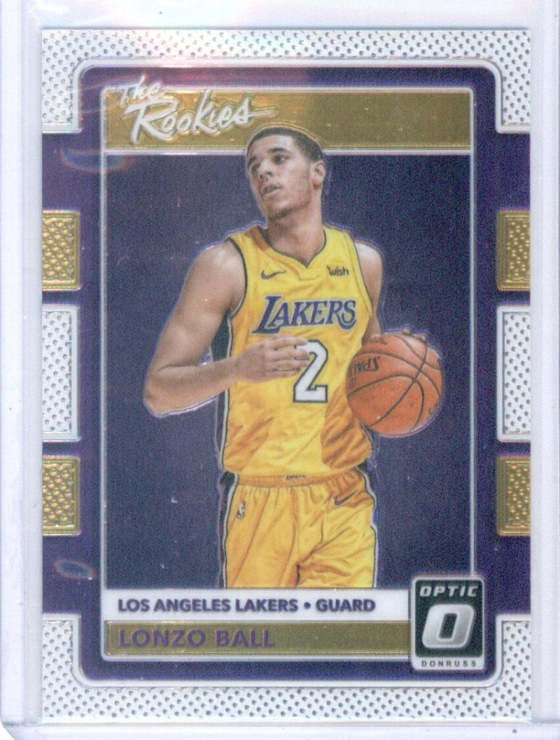 2017-18 Donruss Optic The Rookies