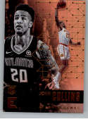 2017-18 Panini Essentials #21 John Collins Atlanta Hawks Rookie RC Card NBA Basketball Card