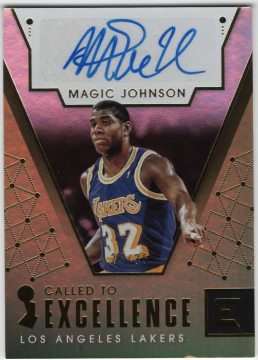 2017-18 Panini Essentials Called to Excellence Autos Gold