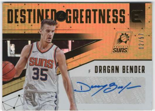 2017-18 Panini Essentials Destined for Greatness Signatures