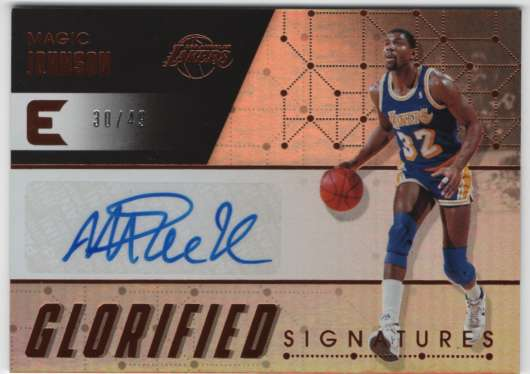 2017-18 Panini Essentials Glorified Signatures