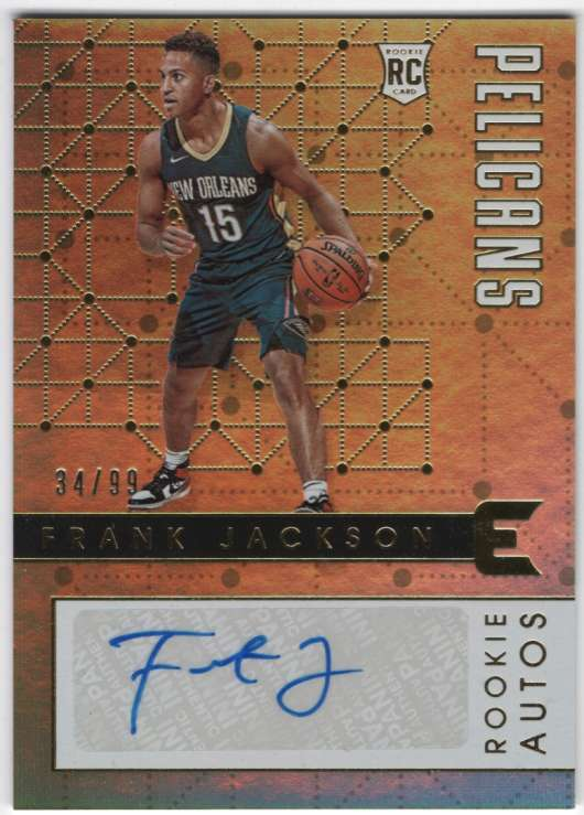 2017-18 Panini Essentials Rookie Autographs