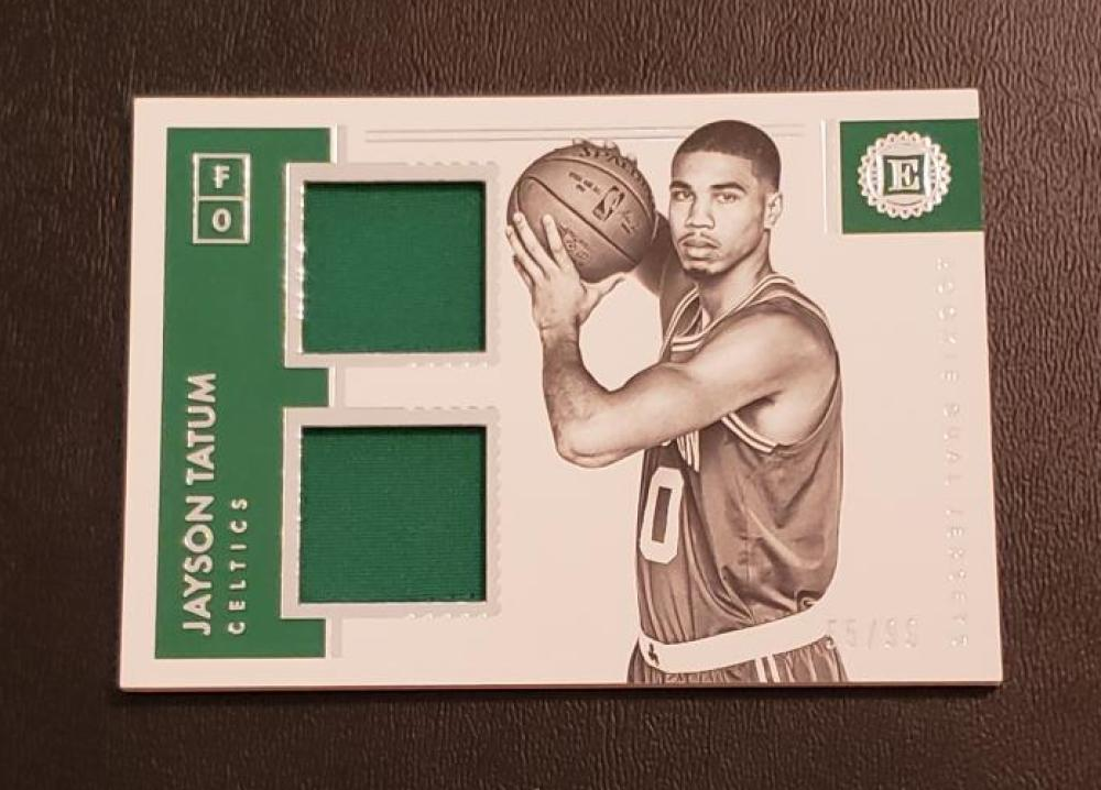 2017-18 Panini Encased Dual Rookie Jerseys