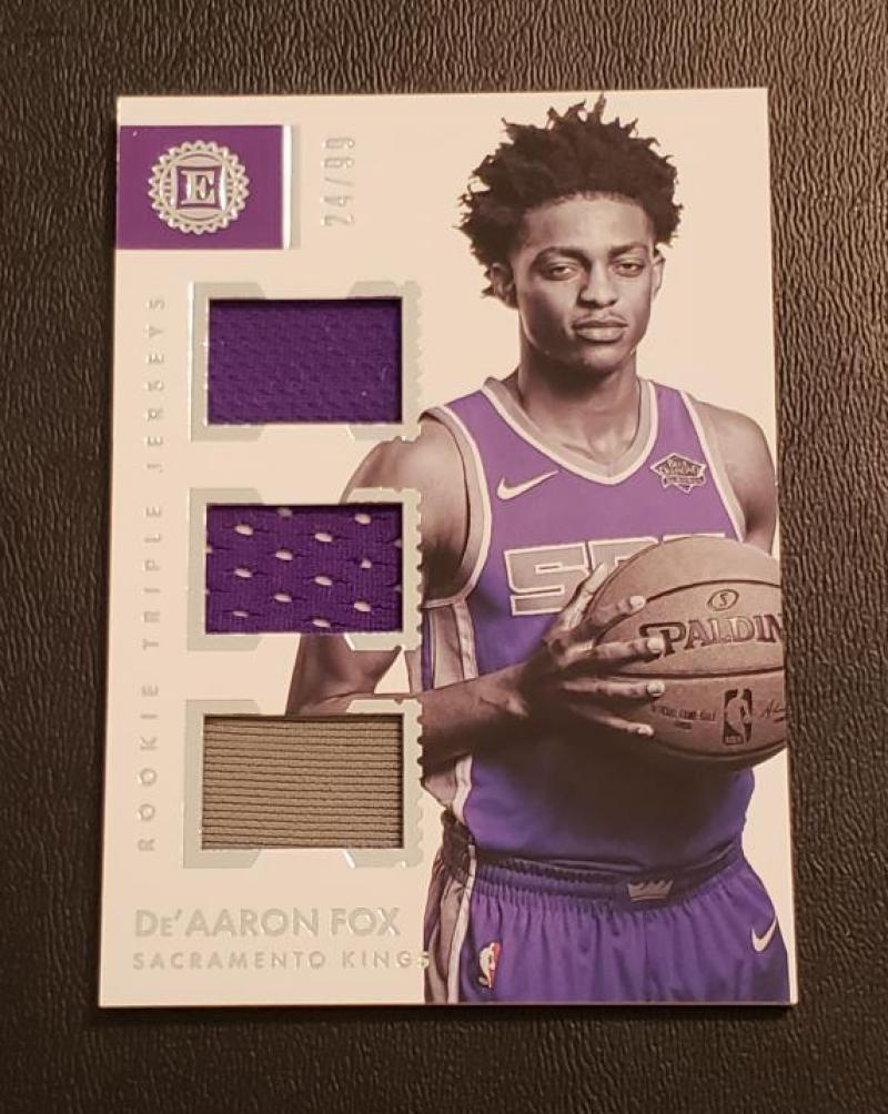 2017-18 Panini Encased Rookie Triple Jerseys