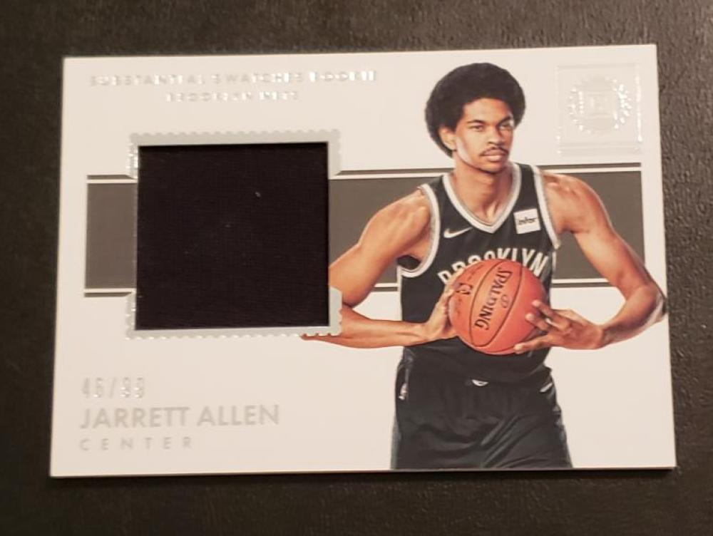 2017-18 Panini Encased Substantial Swatches Rookies