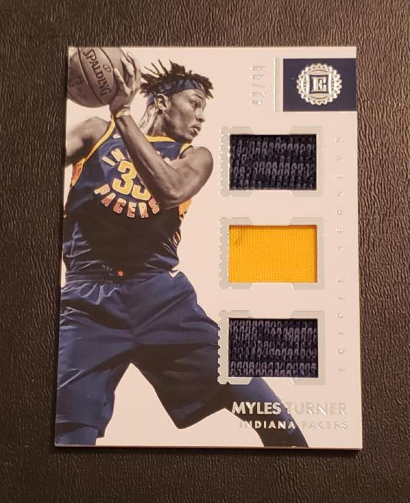 2017-18 Panini Encased Triple Jerseys
