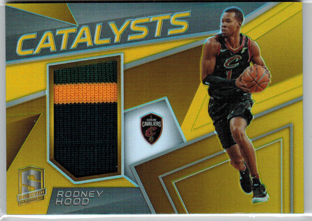 2017-18 Panini Spectra Catalysts Gold