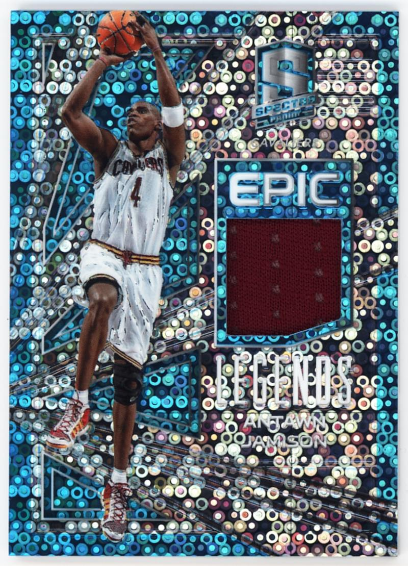 2017-18 Panini Spectra Epic Legends Neon Blue
