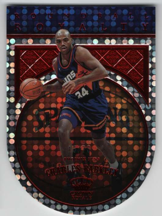 2017-18 Panini Crown Royale Roundball Royalty Red