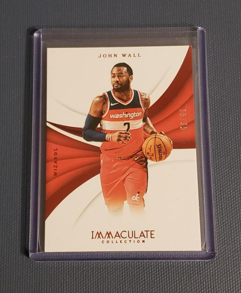 2017-18 Panini Immaculate Red